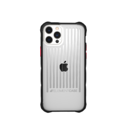 Element Element Case Special Ops Case for iPhone 12 And 12 Pro - Clear and Black
