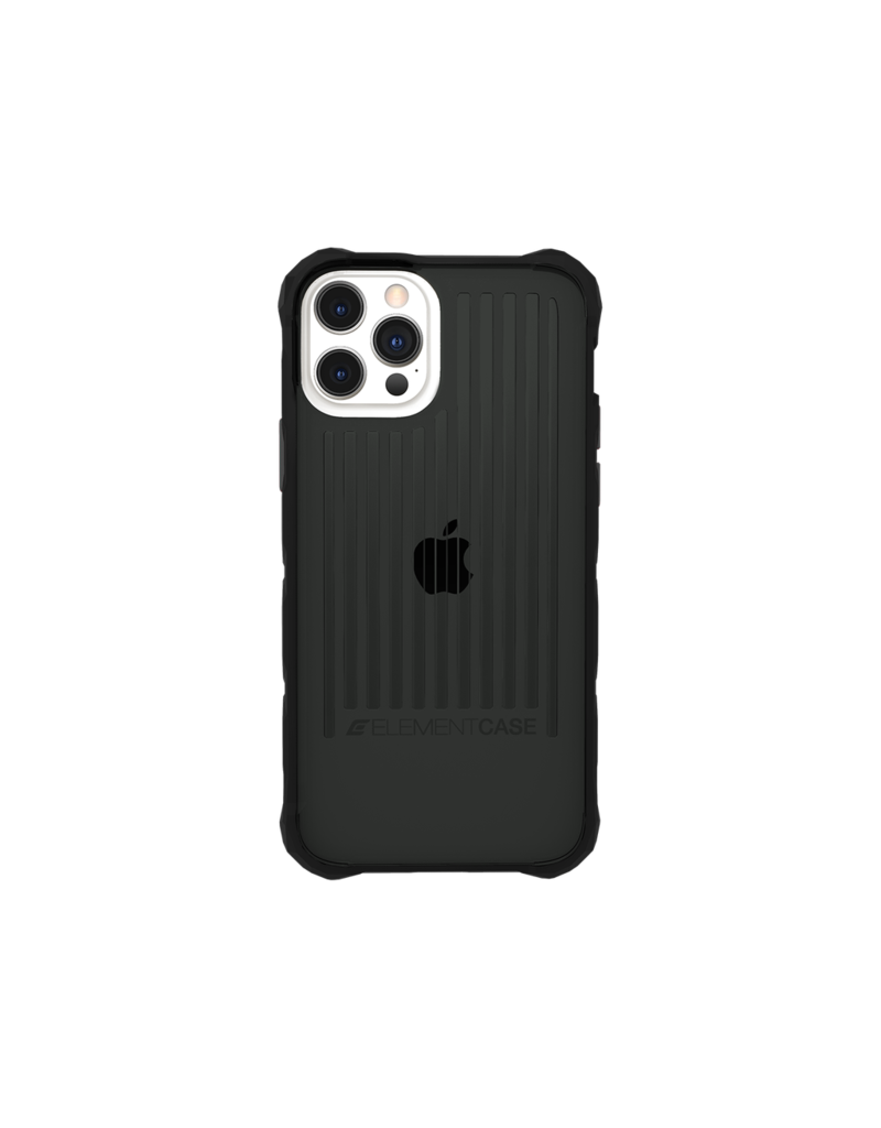 Element Element Case Special Ops Case for iPhone 12 And 12 Pro - Smoke and Black