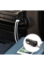 Griffin Griffin PowerJolt Dual Car Charger With Lightning Cable And Extra USB Port 12W