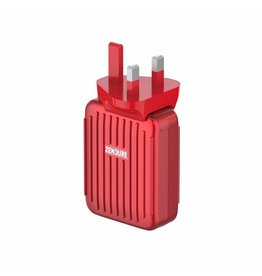 Zendure Zendure A-Series 4-Port Wall Charger With USB-C Power Delivery 30W - Red