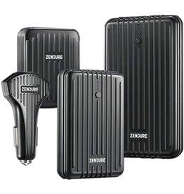 Zendure Zendure bundle Special offer  A3PD / A5PD / 4PORT 30W / CAR-PD 36W Flash - Black