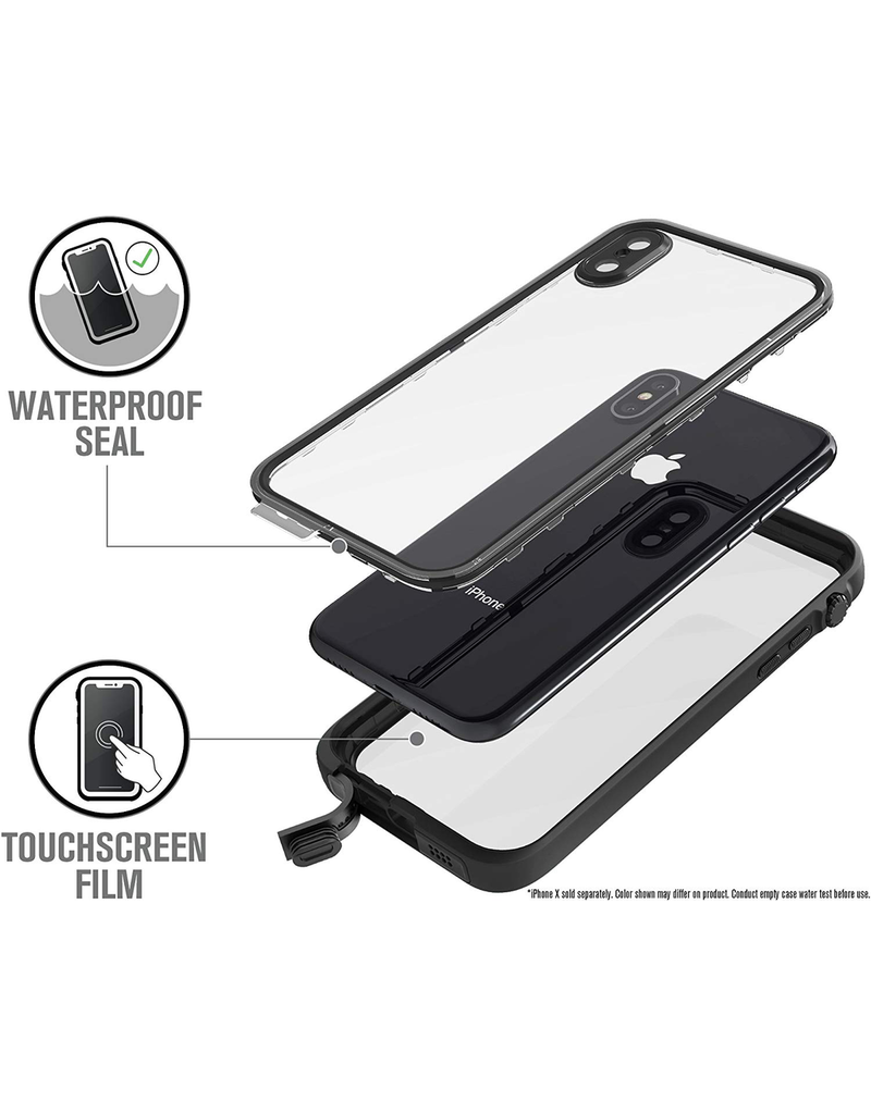 Catalyst Catalyst Waterproof Case for iPhone X - Stealth Black