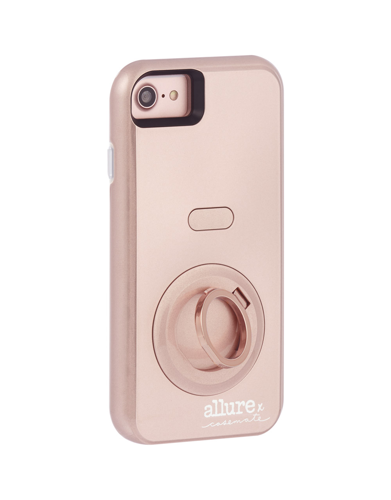 Case Mate CASE MATE ALLURE SELFIE CASE FOR APPLE IPHONE 6 / 6S / 7 - ROSE GOLD