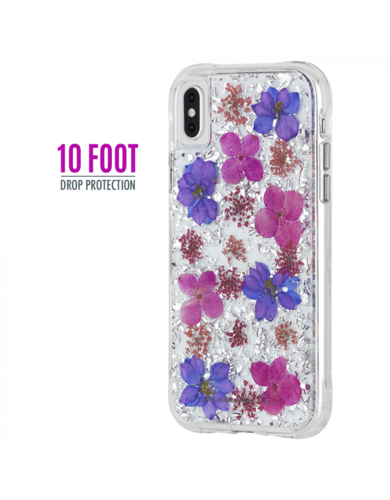 Case Mate Case Mate Karat Petals Case for Apple iPhone Xs Max - Purple