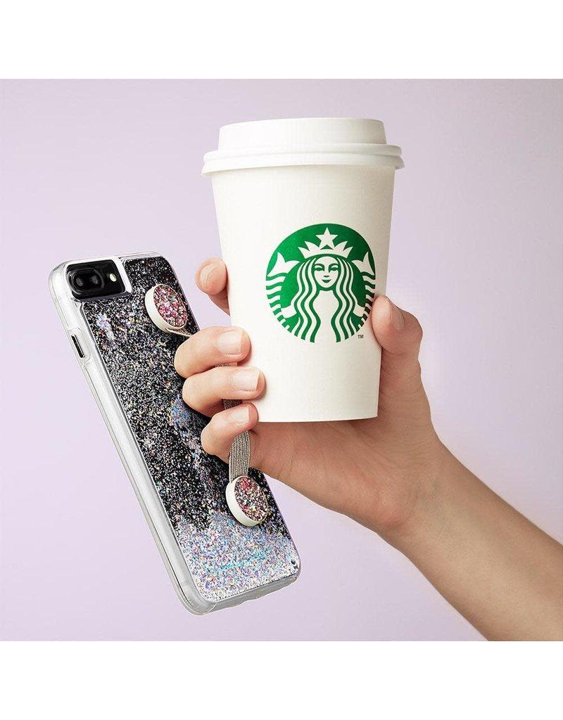 Case Mate Case Mate Straps Device Grip - Pink Glitter
