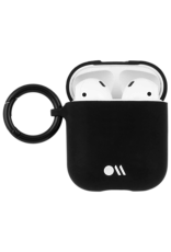 Case Mate Case Mate Hook Ups Flexible Apple Airpod 1/2 Case and Neck Strap - Black