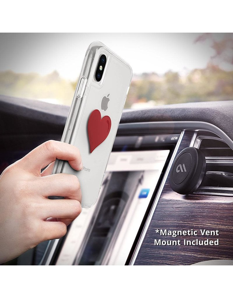 Case Mate Case Mate Car Charms Magnetic Vent Mount Kit - Red Heart