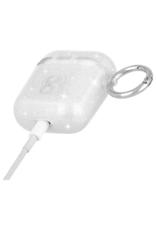 Case Mate Case Mate Hook Ups Flexible Apple Airpod Case and Neck Strap - Clear