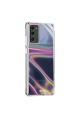 Case Mate Case Mate Soap Bubble Case with MicroPel for Samsung Galaxy Note 20 5G - Iridescent