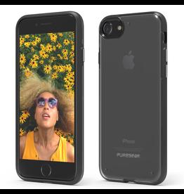 Pure Gear PureGear Slim Shell Pro Case for iPhone 7/8/SE - Clear/Grey