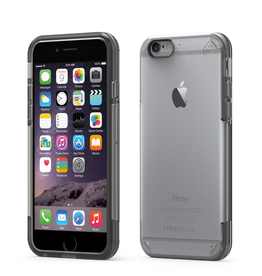 Pure Gear PureGear Slim Shell Pro Case for iPhone 6/6S - Clear/Grey