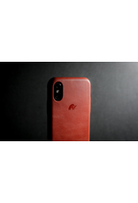 Bull Strap Bull Strap Genuine Bold Leather Case for iPhone Xs Max - Rosso