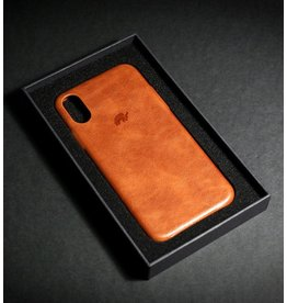 Bull Strap Bull Strap Genuine Bold Leather Case for iPhone X/Xs - Sienna