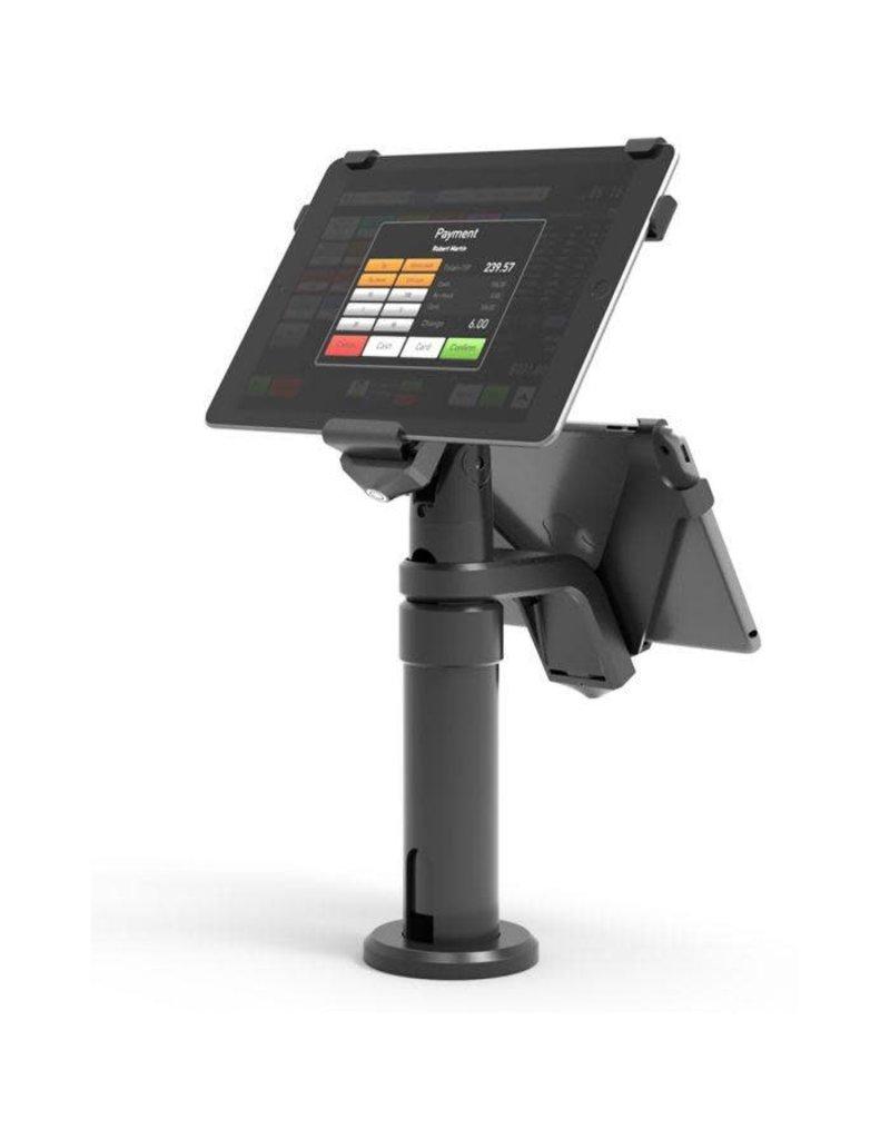 Compulocks Compulocks Pos Kiosk (Single / Dual Screen) Legacy Revel Systems Pole Stand For iPad - Black