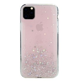 SwitchEasy SwitchEasy Starfield Case for iPhone 11 Pro Max - Transparent Rose