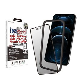 SwitchEasy SwitchEasy Glass Pro full coverage tempered glass screen protector iPhone 12 Mini Transparent