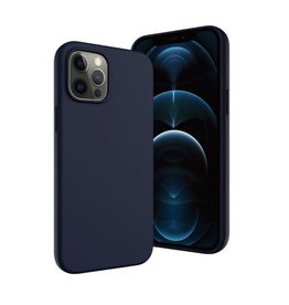 SwitchEasy SwitchEasy MagSkin Silicone Case for iPhone 12 / 12 Pro - Classic Blue
