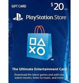 PlayStation PlayStation Network Bahrain $20.00 Gift Card