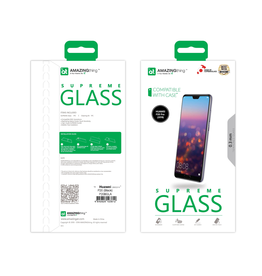 AMAZINGthing AT Huawei P20 Pro 2.5D 0.3mm Fully Covered Supreme Glass ( Black)