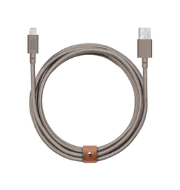 Native Union Native Union Belt XL Cable USB To Lightning 3M - Taupe