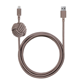Native Union Native Union Night Cable USB To Lightning 3M - Taupe