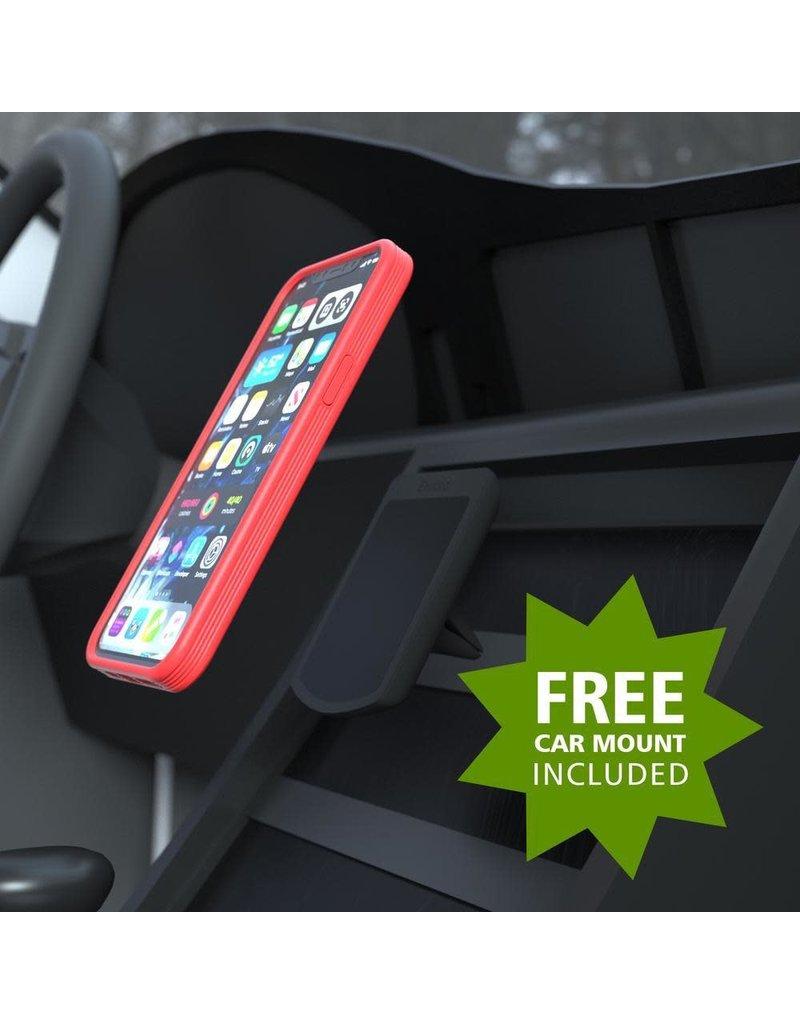 Evutec Evutec Ballistic Nylon Aergo Series Case With Afix for iPhone 12 Pro Max - Blue