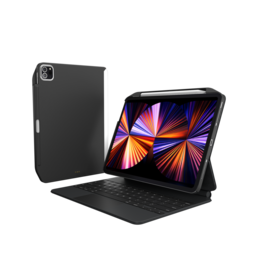 """SwitchEasy SwitchEasy CoverBuddy Case for 2021-2018 iPad Pro 11"""" and 2020 iPad Air 10.9"""" - Black"""