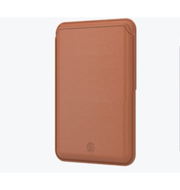SwitchEasy SwitchEasy Leather MagWallet with MagSafe for iPhone 12 Series - Saddle Brown