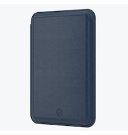SwitchEasy SwitchEasy Leather MagWallet with MagSafe for iPhone 12 Series - Navy Blue