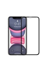 Green 3D Curved Pro Full Round Edge Glass Screen Protector For iPhone 11 Pro Max - Black