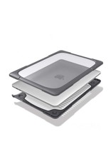 """Green Shockproof Case For Macbook Air 13.3"""" 2020 - Gray"""