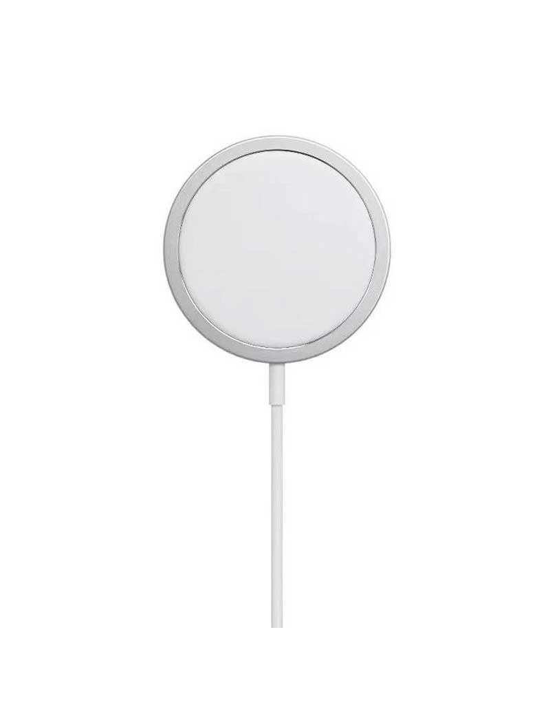 Green Wireless Magnetic Charger 15W - Silver