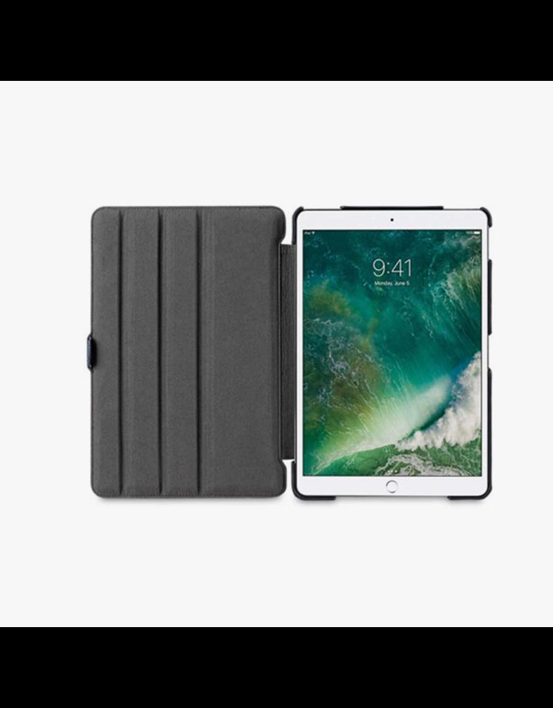 """Green Premium Vegan Leather Case For iPad 10.2"""" 2019 - Blue"""