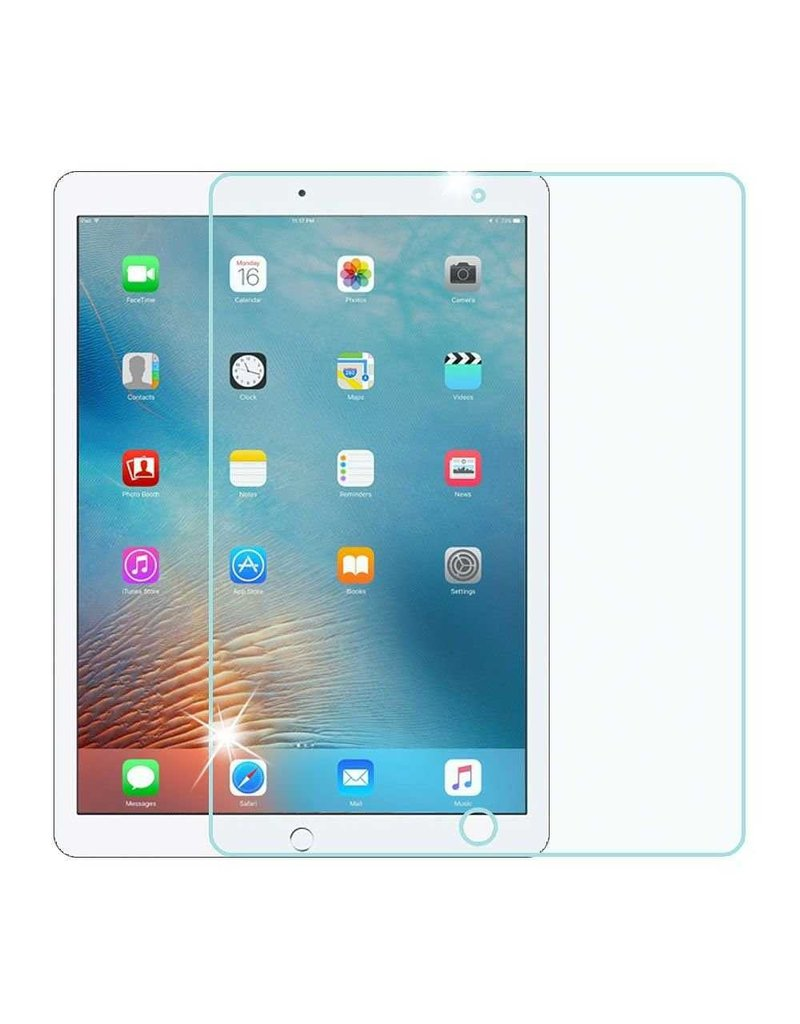 Green Full HD Glass Screen Protector For iPad Pro 12.9 - Clear
