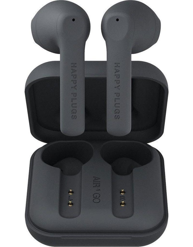 Happy Plugs Happy Plugs Air 1 Go True Wireless Headphones - Black