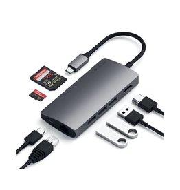 Satechi Satechi Hub Type C Multi Port Adapter 4K Ethernet V2 - Space Gray