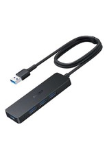 AUKEY Aukey Essential 4 Port USB - A Hub  1 Meter - Black