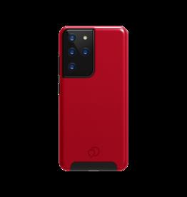 Nimbus9 Cirrus 2 Case for Samsung Galaxy S21 Ultra 5G - Crimson