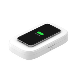 Belkin Boost Charge UV Sanitizer with Wireless Charging 10W - White