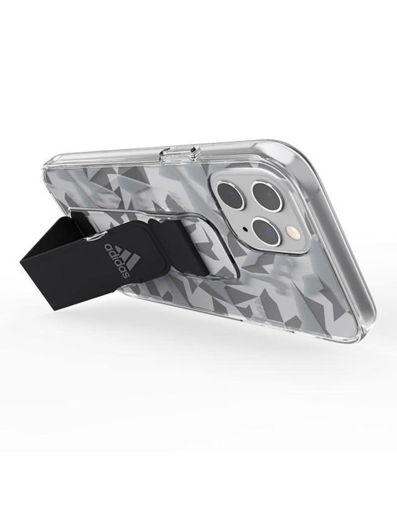 Adidas Adidas Sport Grip Case Clear FW20 for iPhone 12 Pro Max - Gray Black