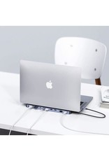 Choetech Choetech 11 in 1 USB-C Multiport Docking Station - Gray
