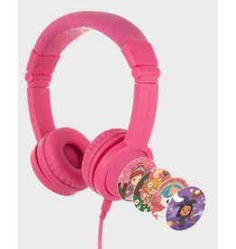 BuddyPhones Explore Plus Foldable with Mic - Rose Pink