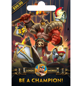 Lords Mobile Lords Mobile Be a Champion! Gift card