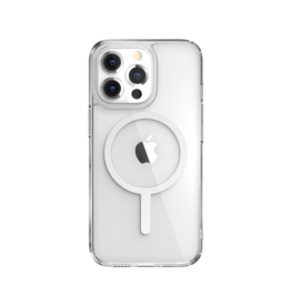 """SwitchEasy SwitchEasy MAgCrush MagSafe Shockproof Clear Case for iPhone 13 Pro 6.1"""" - White"""