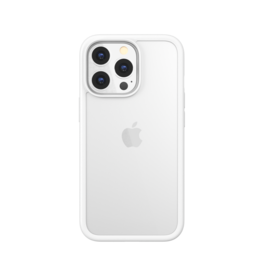 """SwitchEasy SwitchEasy Aero Plus Ultra Light Shockproof Case for iPhone 13 6.7"""" - Clear White"""