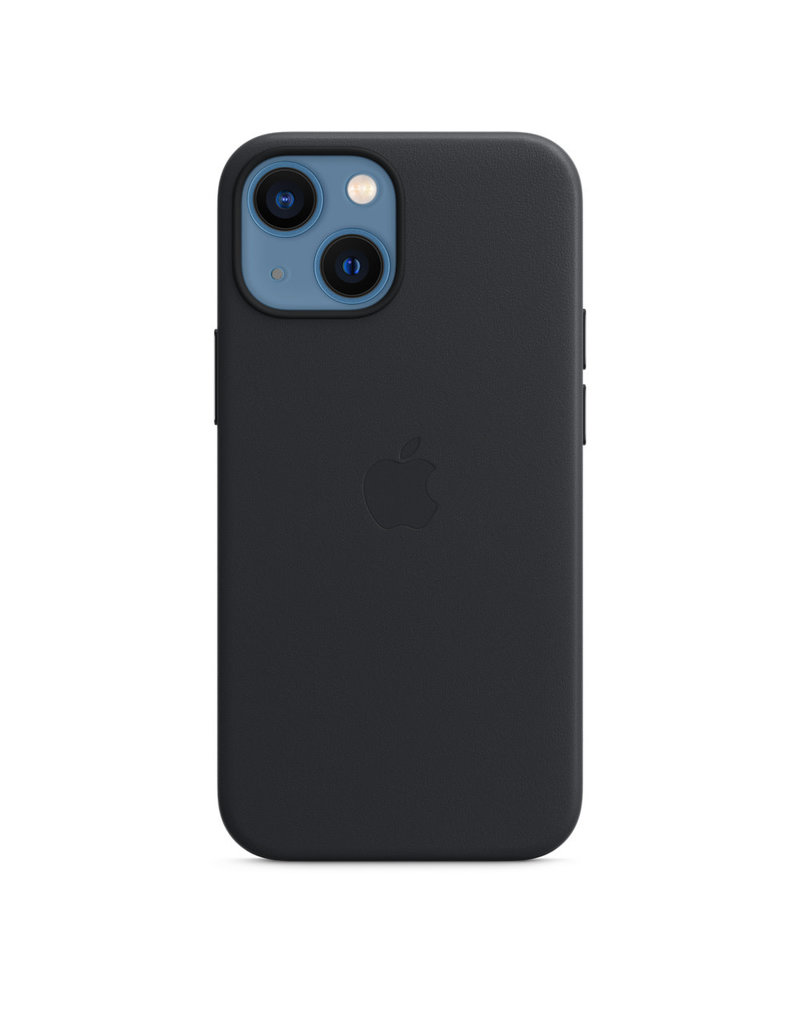 Apple Apple IPhone 13 Leather Case with MagSafe - Midnight