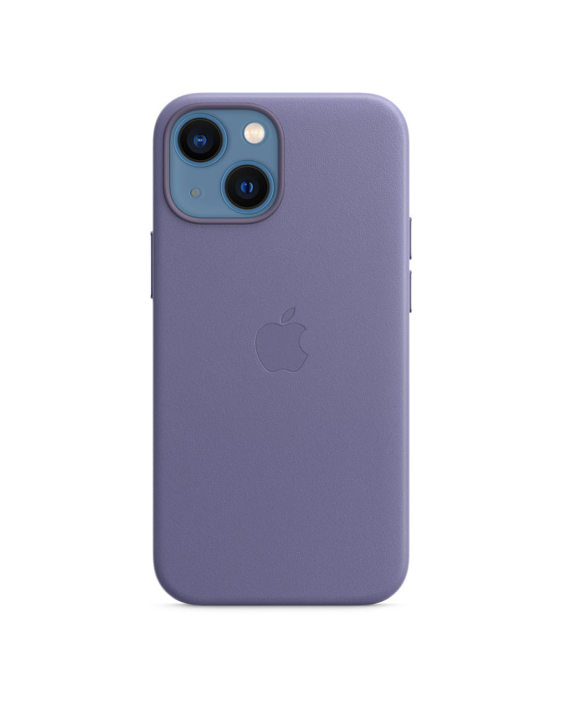 Apple Apple IPhone 13 Leather Case with MagSafe - Wisteria