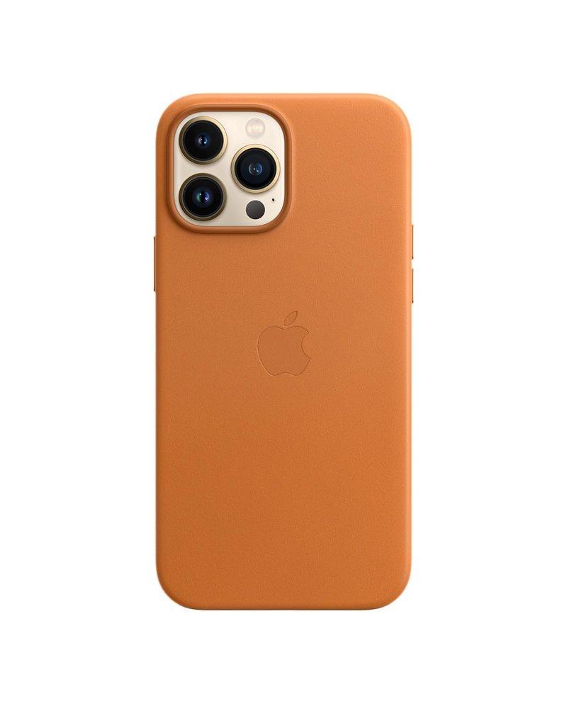 Apple Apple IPhone 13 Pro Max Leather Case with MagSafe - Golden Brown