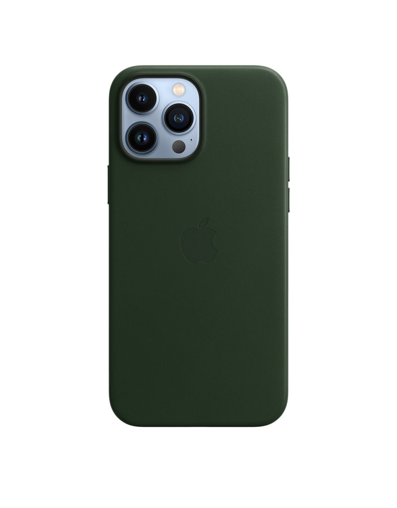 Apple Apple IPhone 13 Pro Max Leather Case with MagSafe - Sequoia Green