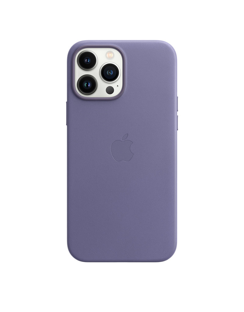 Apple Apple IPhone 13 Pro Max Leather Case with MagSafe - Wisteria